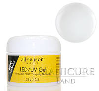 Прозрачный LED/UV-гель All Season Clear, 28 г