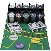 Покерный набор в железной коробке (200 фишек) - для настоящих любителей игры