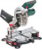 Пила торцева Metabo KS 216М(лазер) 1350 Вт, 5000 об/хв, d 216x30 мм., рез 60*120 мм