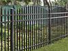 Забор металлический штакет