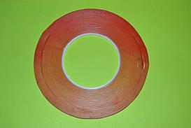 Двухсторонний скотч (прозрачный) 1м 0,5см