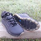 Кросівки чоловічі зимові Columbia р. 40 шкіра Харків чорні, фото 3