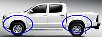 Расширители колесных арок  для Toyota HiLux 2011-2015, фото 1