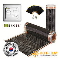 7м2 Карбоновий теплий плівковий підлогу 4-го покоління Felix Excel Platinum PTC Підлога з підігрівом в Запоріжжі, фото 1