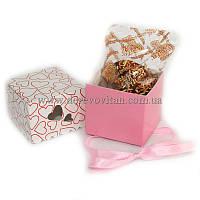 """Бонбоньерка """"Сюрприз"""" с печеньем с предсказаниями в шоколадной глазури"""