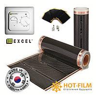 11м2 Пленка инфракрасная теплый пол 4-го поколения Felix Excel Корея под ламинат Автономное отопление Никополь, фото 1