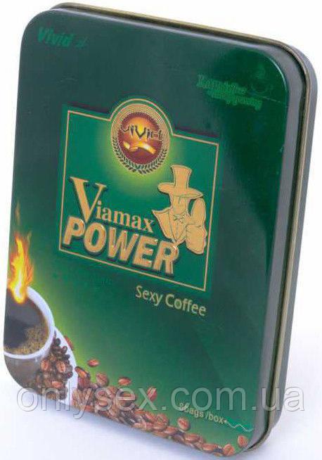 Збудливий кави для чоловіків ViaMax Power Men