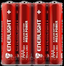 Батарейка ENERLIGHT MEGA POWER AAA FOL 4