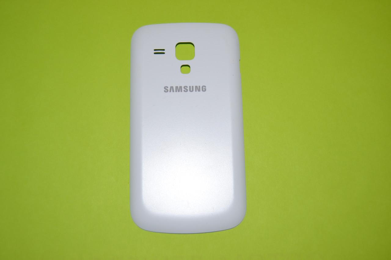 Задняя крышка для Samsung Galaxy S Duos S7562 Pure White