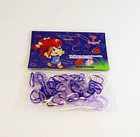 Резинка для волос силиконовая в пакетиках-12 шт.