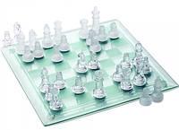Шахматы стеклянные - оригинальный подарочной набор 36x36x0.5