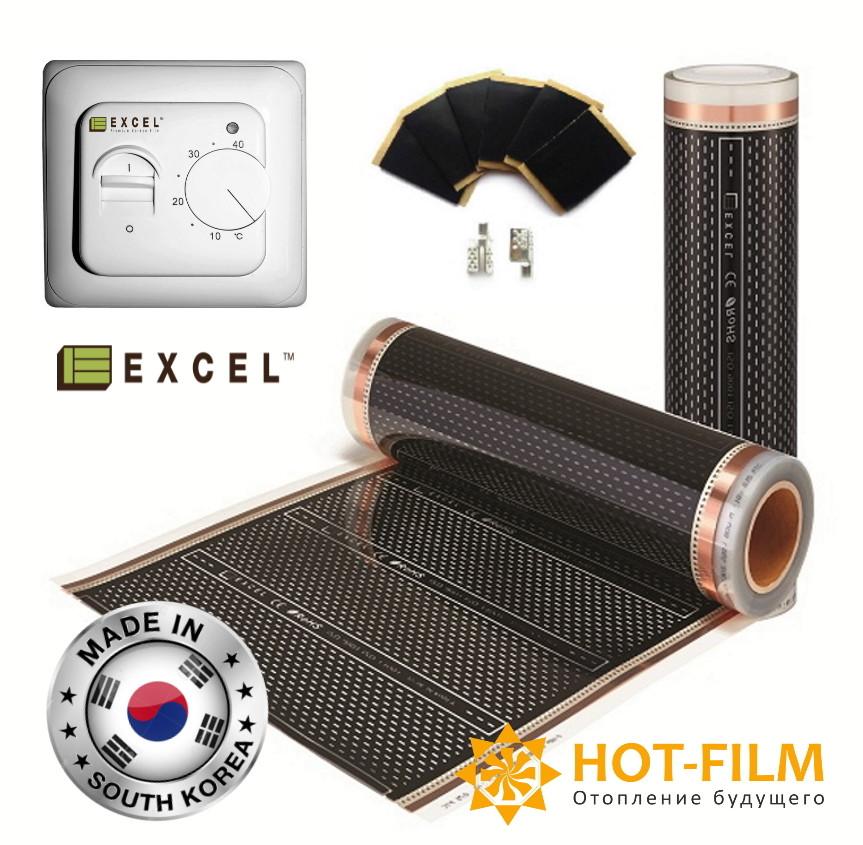12м2 Плівка інфрачервона тепла підлога 4-го покоління Корея Felix Excel c антиискрящей сіткою Бердянськ