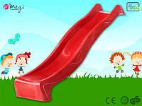 Горка спуск KBT для детей 2,2 м. (Красная)