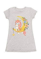 Ночная рубашка для девочки с накатом