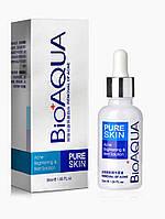 BioAqua Сыворотка от акне Pure Skin. Лечебная косметика для лица