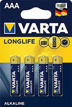 Батарейка VARTA LONGLIFE AAA BLI 4 шт