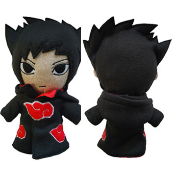 Плюшева іграшка Sasuke у плащі (anime Naruto)