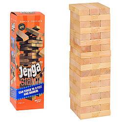 Башня дженга для взрослых, деревянная, Падающая башня