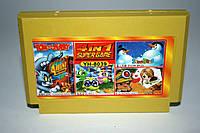 Картридж для Dendy 4в1 Tom and Jerry, Bubble