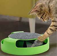 Іграшка для котів (Кіт і Миша) з когтеточку Fine Pet Найкраща якість