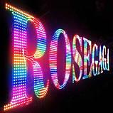 Керований RGB LED PIXEL Ø45мм IP65 12V, фото 6