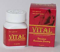 Препарат для потенции  Vital, 8 капсул, фото 1