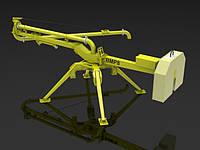 Механические бетонораспределительные стрелы TUNA BMP