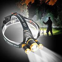 Налобний ліхтарик RJ3000-T6 Найкраща якість