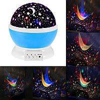 Ночник-проектор Звездное небо Star Master Dream rotating projection lamp Лучшее качество