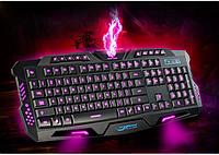 Професійна ігрова радіо клавіатура з підсвічуванням М200 Найкраща якість