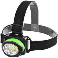 Налобний ліхтарик 539-6SMD, 3xAAA Найкраща якість