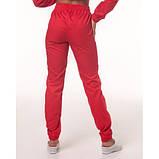 Медицинские штаны Парма Красный, фото 2