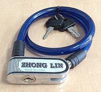 Замок велосипедний Zhong lin 3080 Найкраща якість