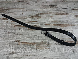 Качественный мужской брючный ремень COLIBERI классика 115 см, прочный  модный ремень из заменителя All, фото 2