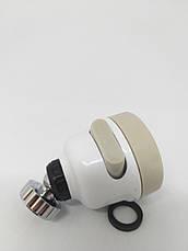 Поворотная насадка на кран для экономии воды, аэратор воды, Water Saver F9. Душ для крана.Насадка на смеситель, фото 3