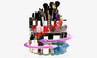 Органайзер для женской косметики Glam Caddy косметичка стационарная на 200 предметов