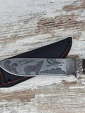 Мисливський ніж ВОВК COLUNBIA 28,5см / Н-931. Ніж для полювання, риболовлі та туризму. Ніж для виживання в All, фото 3
