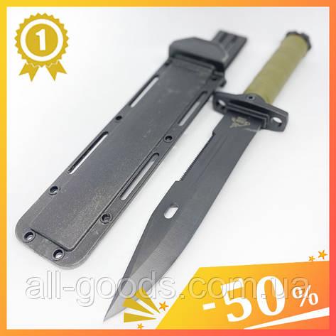 Великий тактичний ніж з чохлом GERBFR 2368В (35см). Довгий, великий ніж мисливський, рибальський, туристичний. All, фото 2