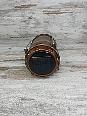 Кемпінговий складаний ліхтар G-85 в комплекті з мисливським ножем Gerber АК-207, туристичний ліхтарик з ножем All, фото 2