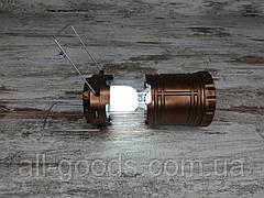 Кемпінговий складаний ліхтар G-85 в комплекті з мисливським ножем Gerber АК-207, туристичний ліхтарик з ножем All, фото 3