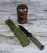 Кемпінговий складаний ліхтар G-85 в комплекті з мисливським ножем Gerber АК-207, туристичний ліхтарик з ножем All, фото 6