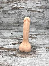 Фалоімітатор Реалістичний силіконовий фалоімітатор дилдо Фаллоимитатор на присоске Секс іграшка 17х4 All, фото 2