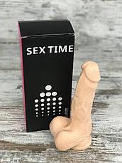 Фалоімітатор Реалістичний силіконовий фалоімітатор дилдо Фаллоимитатор на присоске Секс іграшка 17х4 All, фото 3