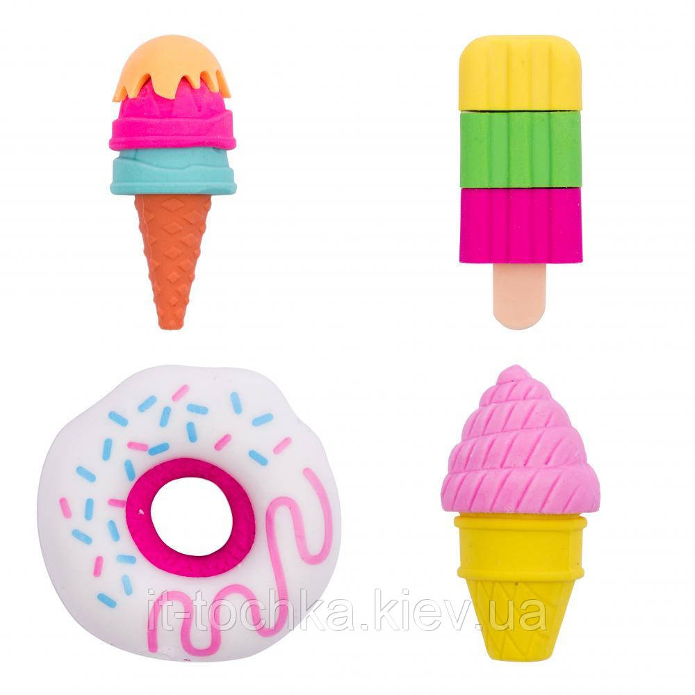 Ластик yes candy pop, набір 4шт yes 560544
