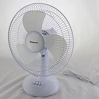 Настільний вентилятор Domotec MS-1626 Fan, 3 режими, 40 Вт, 43 см Білий Кращу якість
