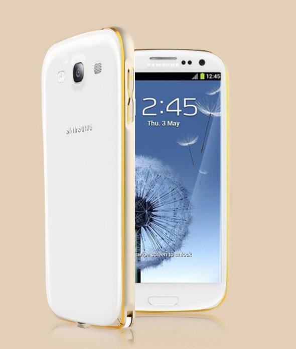 Металлический бампер для Samsung Galaxy S3 I9300