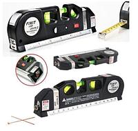 Лазерный уровень нивелир с рулеткой Fixit Laser Level Pro 3 Лучшее качество