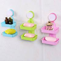 Органайзер-полиця для ванної (WO-18) / Утримувач для мила Кращу якість