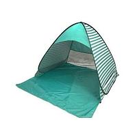 Палатка пляжная Stripe 150/165/110зелёная полоска Лучшее качество