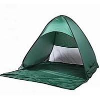 Палатка пляжная зелёная 150/165/110 самораскладная Зеленая Лучшее качество